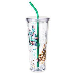 NEW Starbucks Disneyland Venti Tumbler with Straw